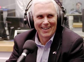 Mike Pence headphones
