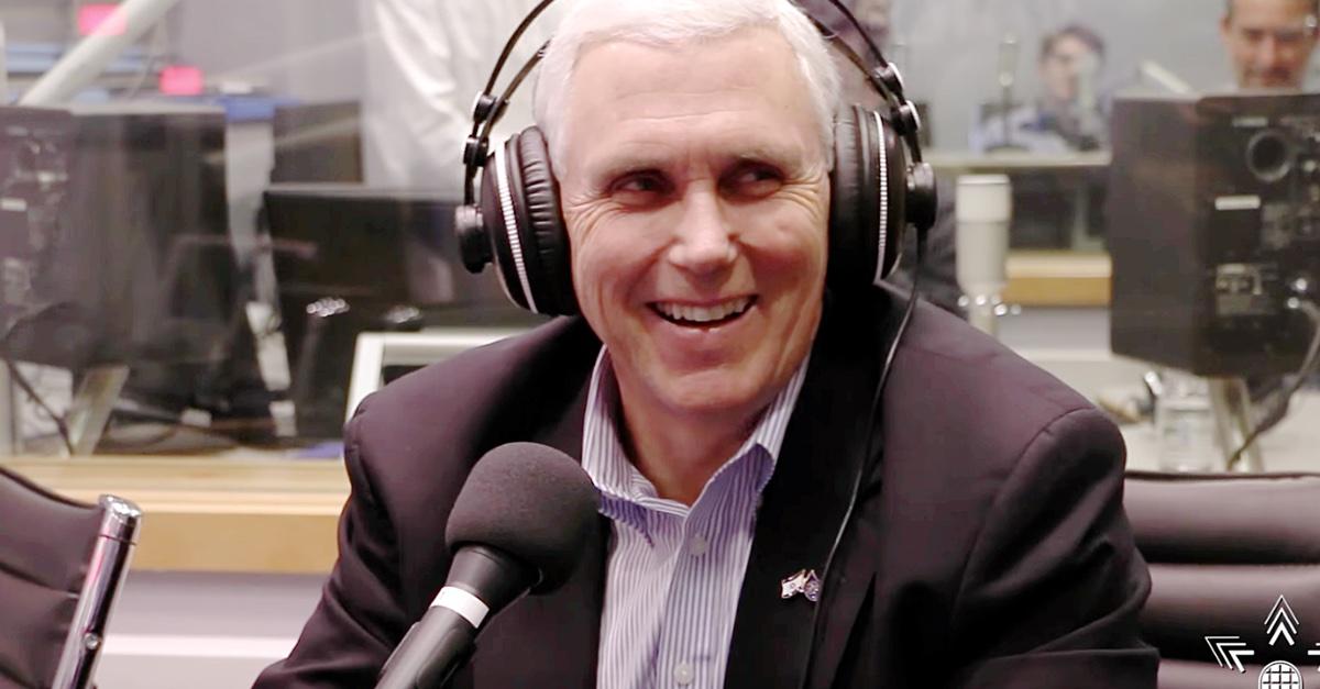 Mike Pence headphones